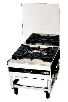 【送料無料】新品!オザキスープレンジ(1口)立消え安全装置付きXシリーズW500*D600*H450(mm)OZ50-60LDX