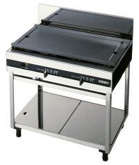 【送料無料】新品!オザキガステーブル(ホットプレート)W900*D600*H800(mm)OZ90-60HD