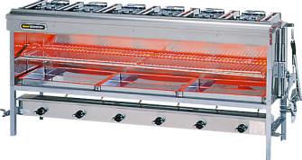 【送料無料】新品!リンナイ ガス赤外線グリラー 大型 W1575 R-8456C(A)
