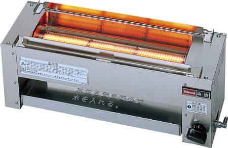 【送料無料】新品!リンナイ ガス赤外線グリラー 串焼61号 RGK-61D