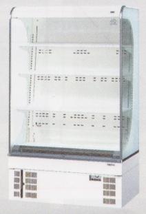 【送料無料】新品!サンデン 冷蔵ショーケース(オープン)(273L) RSG-900CZ