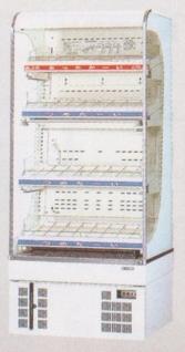 【送料無料】新品!サンデン 冷蔵ショーケース(HOT&COLD)(165L) RSG-H650CZ