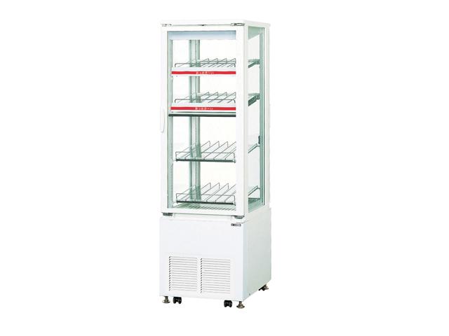 【送料無料】新品!サンデン 冷蔵ショーケース(HOT&COLD・137L) SPAS-H521XB