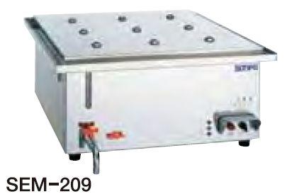 【送料無料】新品!SANPO 電熱スーパーボイラーミニ(セイロタイプ) SEM-209