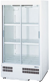 【送料無料】新品!パナソニック(旧サンヨー) 冷蔵ショーケース (275L) SMR-H180NB