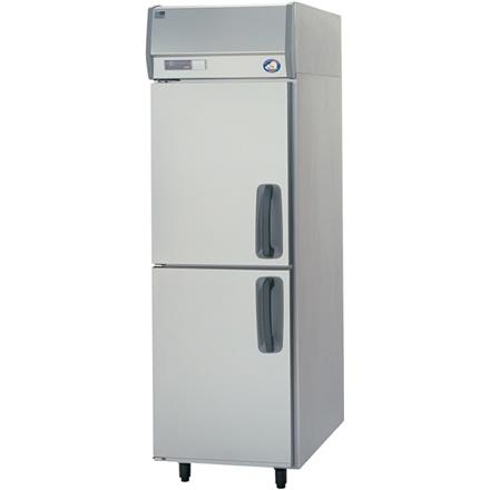 【送料無料】新品!パナソニック(旧サンヨー) 冷凍庫(左開き) W615*D800*H1950mm  SRF-K681L (旧 SRF-J681VLA)