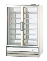 【送料無料】新品!パナソニック(旧サンヨー) 冷凍ショーケース (466L) SRL-4065N