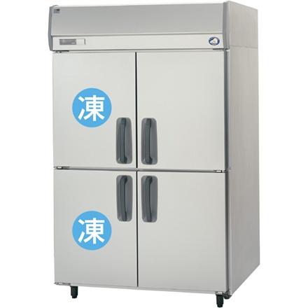 【送料無料】新品!パナソニック(旧サンヨー) 2冷凍2冷蔵庫 W1200*D650*H1950mm SRR-K1261C2 (旧 SRR-J1261C2VA)