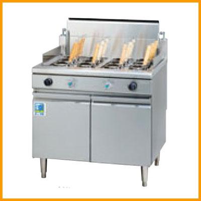 【送料無料】新品!タニコー ガス角型ゆで麺器 TGUS-90AW