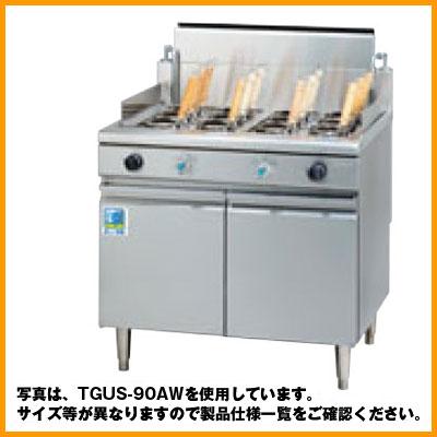 【送料無料】新品!タニコー ガス角型ゆで麺器 TGUS-90W