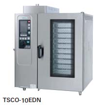 【送料無料】新品!タニコー 電気式 デラックススチームコンベクションオーブン W950*D750*H1100 TSCO-10EDN