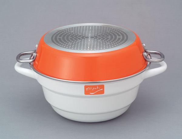 Miyuki Shimamoto Quaternary LACO kitchen Kit Fuji enameled IH (100 V, 200 V) 05P13sep13