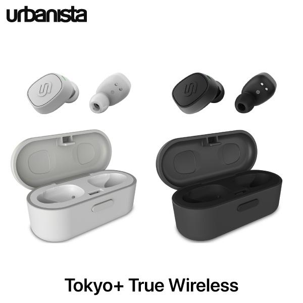 【マラソンクーポン有】 Urbanista Tokyo+ True Wireless 防水 完全ワイヤレスイヤホン アーバニスタ (左右分離型ワイヤレスイヤホン) [PSR]