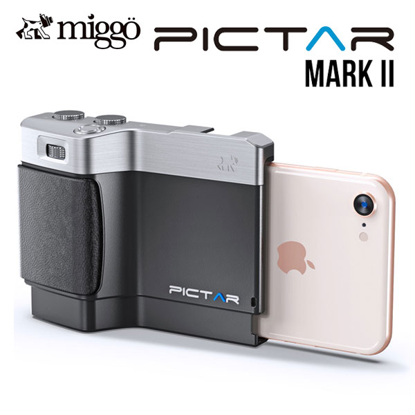 【クーポン有】 miggo Pictar One Mark II SmartPhone Camera Grip Black # MW PT-ONE BS 32 J ミゴ (カメラアクセサリー) [PSR]