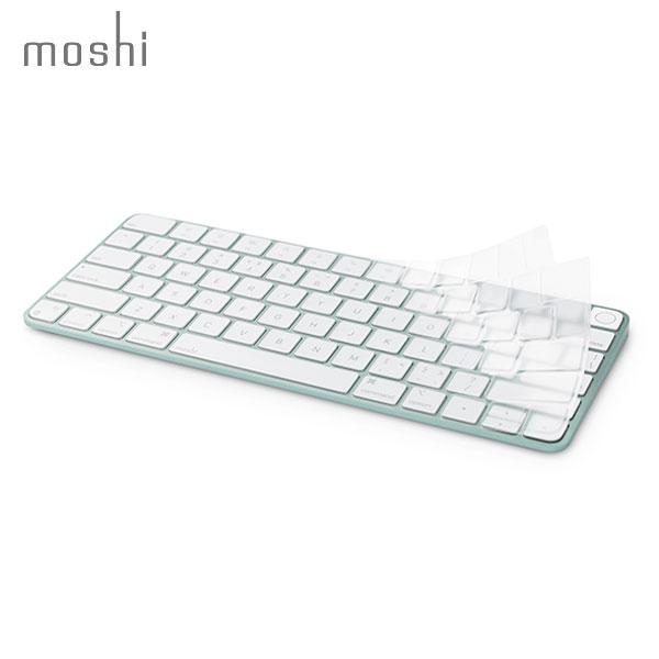 テンキーレスUS配列のTouch ID Magic 海外限定 Keyboard対応カバー moshi Apple Touch ID搭載 Keyboard用 キーボードカバー Clearguard mo-cld-mkuu 定価の67%OFF US配列 # PSR