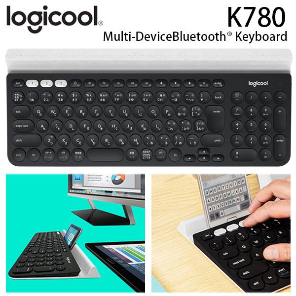 LOGICOOL K780 マルチデバイス Bluetooth キーボード # K780 ロジクール (キーボード) [PSR]