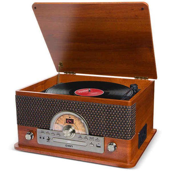 【6/1はエントリーでP11倍以上】 ION Audio Superior LP Bluetooth ワイヤレス再生対応 オールインワン ミュージックプレーヤー # IA-TTS-026 アイオンオーディオ (USBレコードプレーヤー) レコードプレイヤー [PSR]