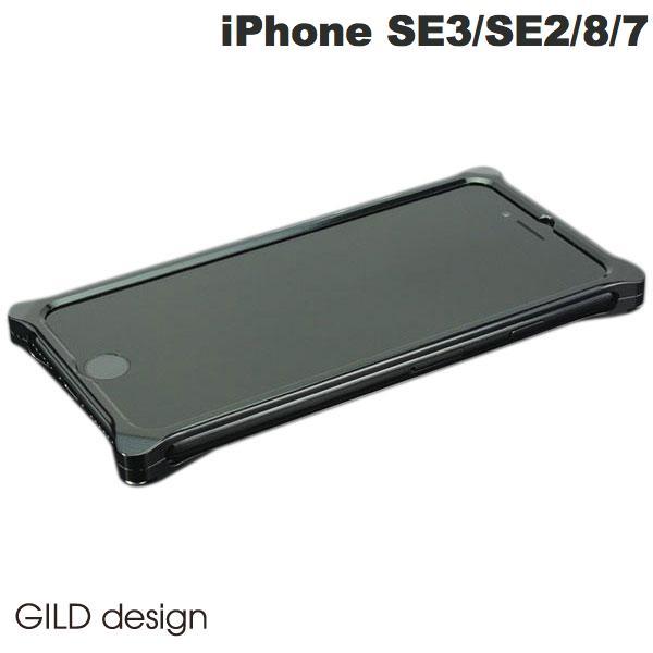 【マラソン日替わりクーポン有】 GILD design iPhone 8 / 7 ソリッドバンパー ポリッシュブラック # GI-402PB ギルドデザイン (iPhone7 / iPhone8 バンパーケース) [PSR]