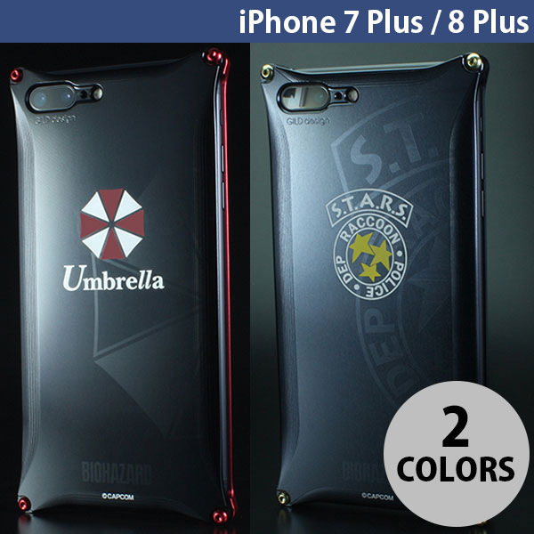 GILD design iPhone 8 Plus / 7 Plus Solid BIOHAZARD ギルドデザイン (iPhone8Plus / iPhone7Plus スマホケース) [PSR]