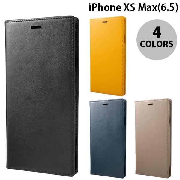 【マラソンクーポン有】 GRAMAS iPhone XS Max Italian Genuine Leather Book Case グラマス (iPhoneXSMax スマホケース)