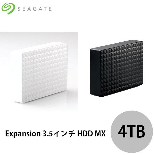 【クーポン有】 Seagate Expansion 3.5インチ HDD MX 4TB シーゲート (ハードディスク)