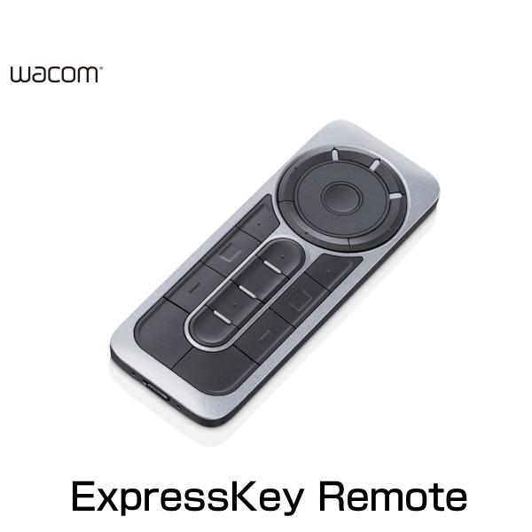 【クーポン有】 WACOM ExpressKey Remote 2.4GHz ワイヤレス ショートカットキー # ACK411050 ワコム (パソコン周辺機器)