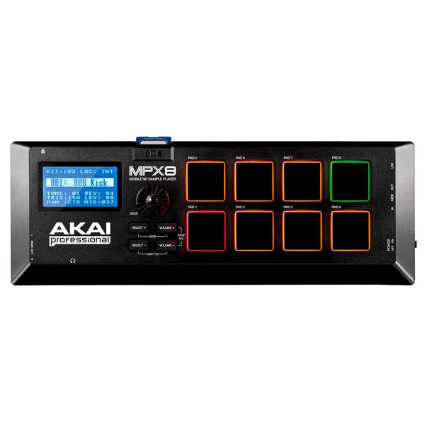 【マラソン日替クーポン有】 AKAI MPX8 モバイル SD サンプル プレーヤー # AP-EDR-002 アカイプロフェッショナル (オーディオインターフェイス)