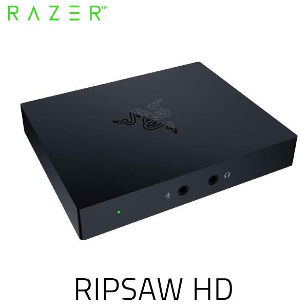 【クーポン有】 Razer Ripsaw HD 4K 60FPS フルHD パススルー HDMI 2.0 / USB 3.0 接続 キャプチャーカード # RZ20-02850100-R3M1 レーザー (ビデオ入出力・コンバータ)