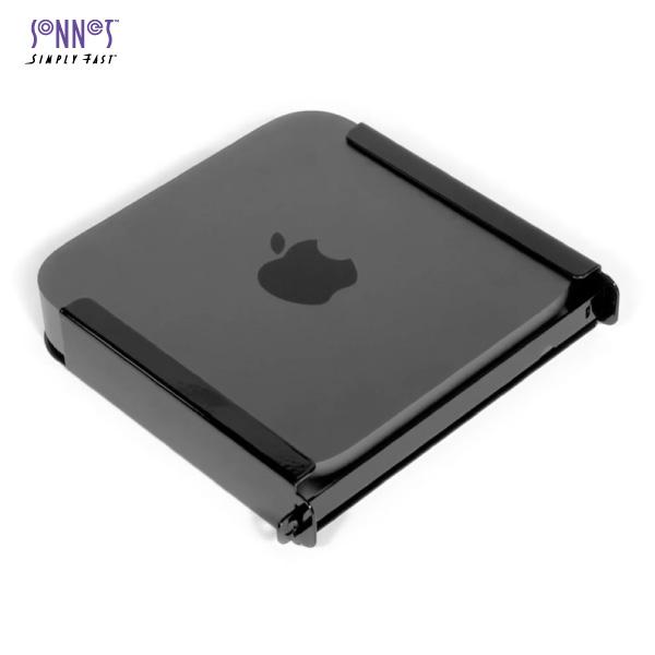 【クーポン有】 SONNET MacCuff Mini 2 VESA/Desk Mount for Unibody Mac mini, Locking, HDMI Cable # CUFF-MIN-LH2 ソネット テクノロジー (パソコン周辺機器)