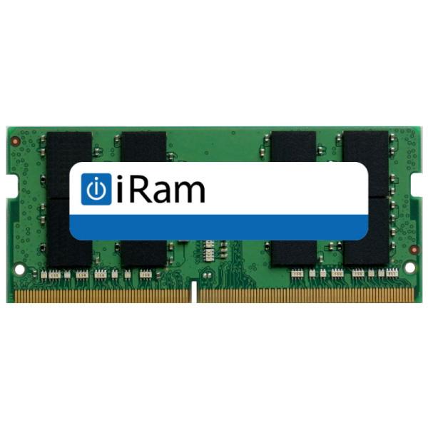 【クーポン有】[あす楽対応] iRam PC4-21300 DDR4 2666MHz SO.DIMM 16GB # IR16GSO2666D4 アイラム (Macメモリー)