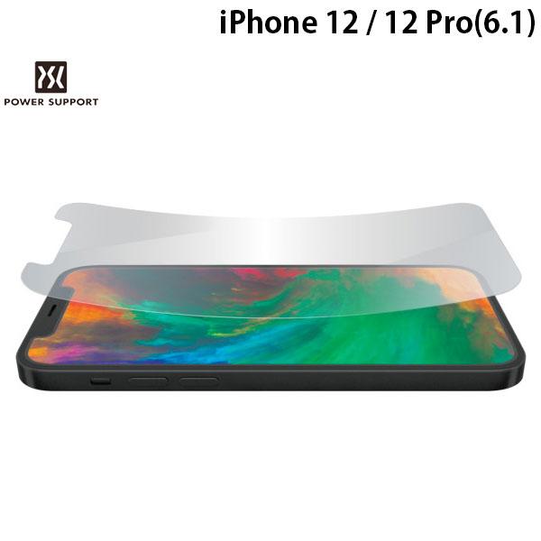 国内設計 国内製造の高品質光沢フィルム 創業28年のApple専門店 ネコポス発送 PowerSupport iPhone 12 Pro Crystal PPBK-01 # 光沢 クリスタルフィルム パワーサポート iPhone12 film 信憑 本日限定 保護フィルム 12Pro