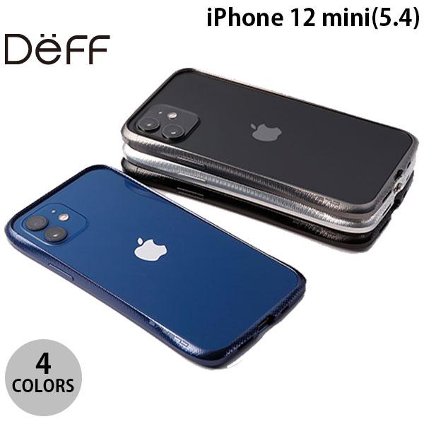 ネジなどの工具が不要でグリップ感のあるアルミバンパー 創業28年のApple専門店 ネコポス発送 Deff iPhone 12 mini iPhone12mini Bumper 最安値 スマホケース 上品 Aluminum ディーフ CLEAVE