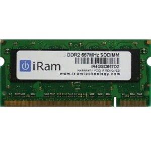 【クーポン有】 iRam PC2-5300 DDR2 667MHz 4GB 200pin # IR4GSO667D2 アイラム (Macメモリー) MacBook Pro , PowerBook G4 , MacBook , iMac