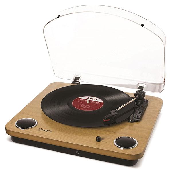最安値挑戦 スピーカー内蔵 レコードプレーヤー 創業28年のApple専門店 ION 再再販 Audio Max LP IA-TTS-013 レコードプレイヤー ウッド調 USBレコードプレーヤー アイオンオーディオ #