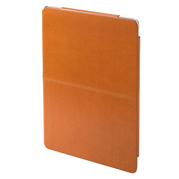 GRAMAS iPad Air Leather Case タン # TC494TA グラマス (タブレットカバー・ケース)