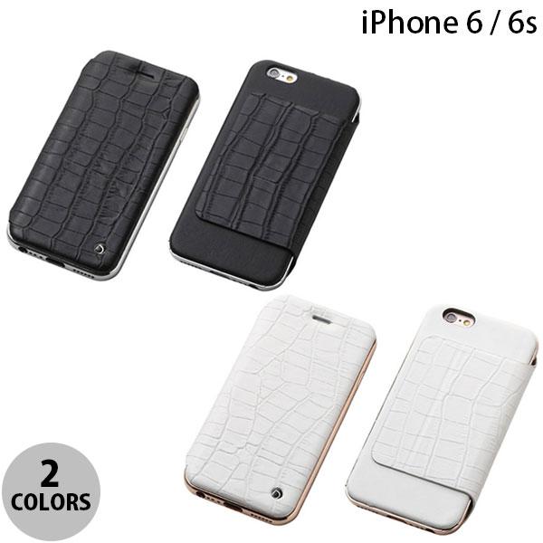 【マラソン日替クーポン有】 Deff Hybrid Case UNIO for iPhone 6s / 6 Leather クロコ型押 ディーフ (iPhone6 / iPhone6s スマホケース)