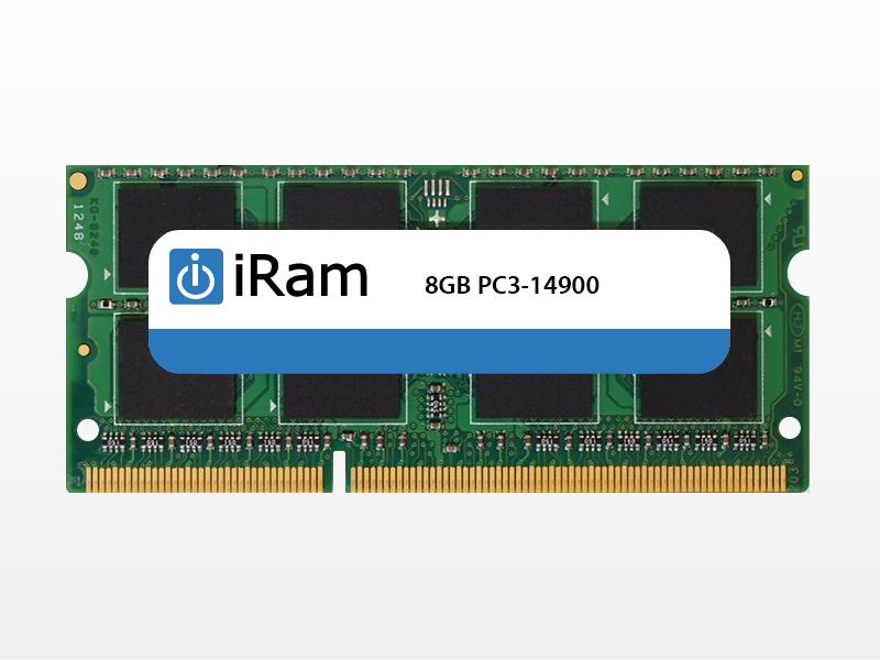 【マラソンクーポン有】[あす楽対応] iMac (Retina 5K, 27-inch, Late 2015) メモリー iRam PC3-14900 (DDR3-1866) SO.DIMM 8GB # IR8GSO1866D3 アイラム (Macメモリー) iMac メモリー 増設