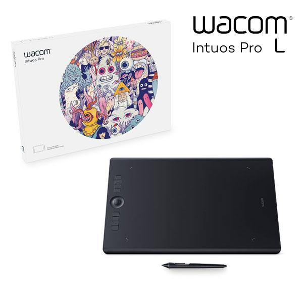 【マラソン日替クーポン有】 WACOM Intuos Pro Large # PTH-860/K0 ワコム (ペンタブレット)