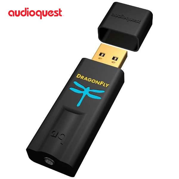 [先着クーポン有] audioquest USB デジタルアナログコンバーター (DAC) Dragonfly Black # DRAGONFLY/B オーディオクエスト (Apple製品関連アクセサリ)
