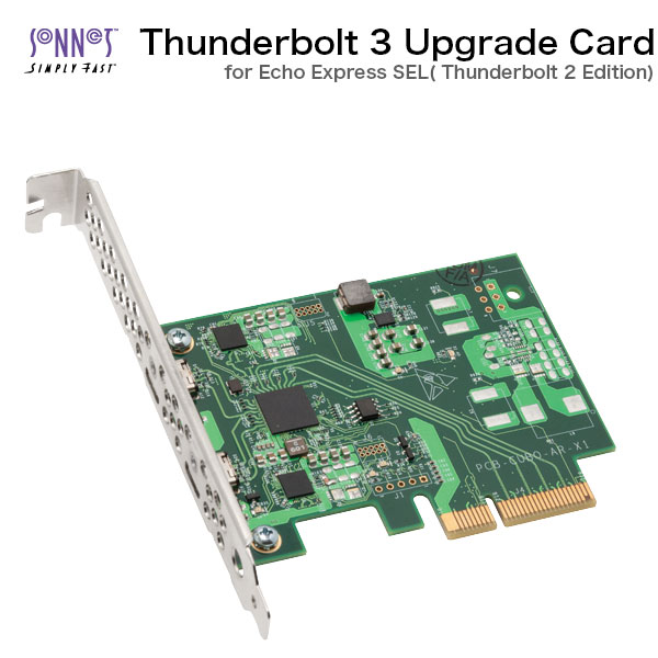 SONNET Thunderbolt 3 Upgrade Card for Echo Express SEL Thunderbolt 2  Edition # BRD-UPGRTB3-SEL sonnet technology (Apple product connection