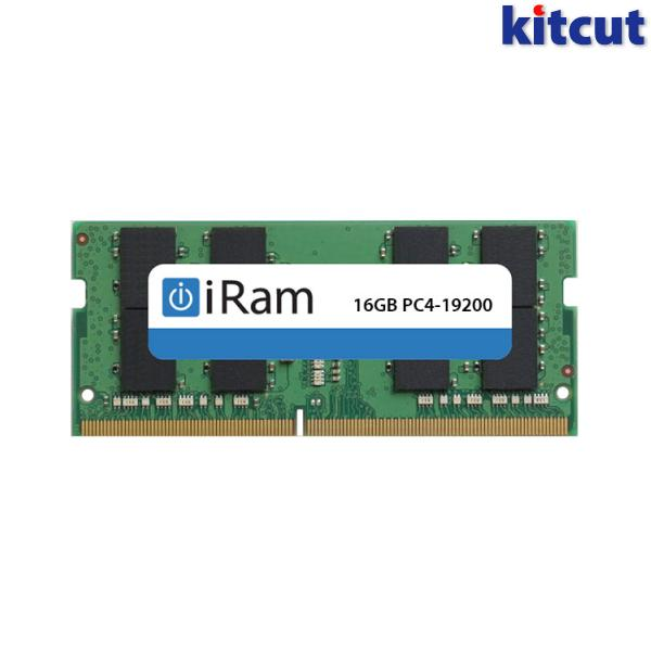 [あす楽対応] iRam PC4-19200 DDR4 2400MHz SO.DIMM 16GB # IR16GSO2400D4 アイラム (Apple製品関連アクセサリ)