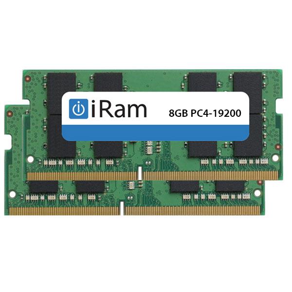 【マラソン日替クーポン有】[あす楽対応] iRam PC4-19200 DDR4 2400MHz SO.DIMM 16GB (2x8GB) # IR8GSO2400D4W アイラム (Apple製品関連アクセサリ)