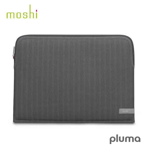 moshi MacBook Pro 13 Pluma (Herringbone Gray) # mo-plm13-hb エヴォ (Macノート用 スリーブケース)