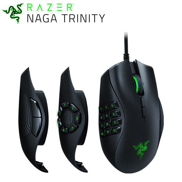 【クーポン有】 新製品 Razer Naga Trinity 有線 光学式 ゲーミングマウス # RZ01-02410100-R3M1 レーザー (マウス)