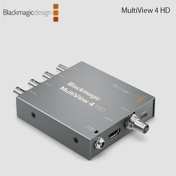 Blackmagic Design MultiView 4 HD # HDL-MULTIP3G/04HD ブラックマジックデザイン (切替器・モニター)