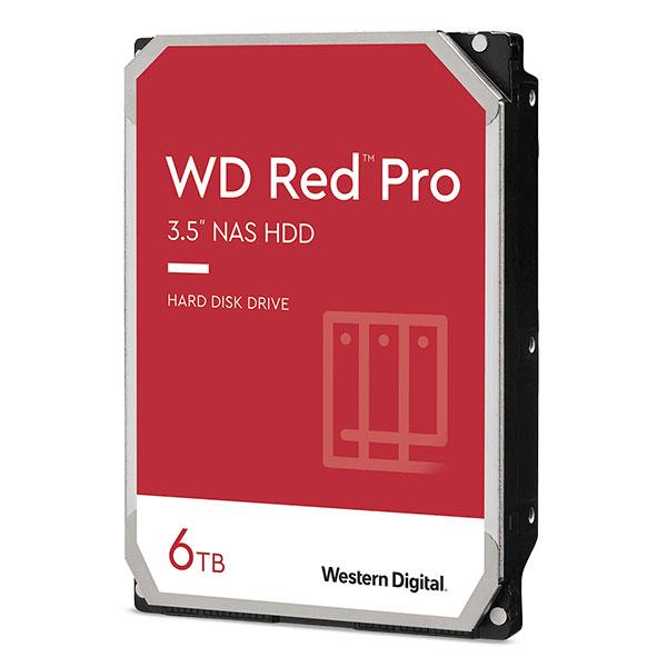 Western Digital WD Red Pro 3.5インチ SATA III 6TB # WD6003FFBX ウエスタンデジタル (パソコン周辺機器)