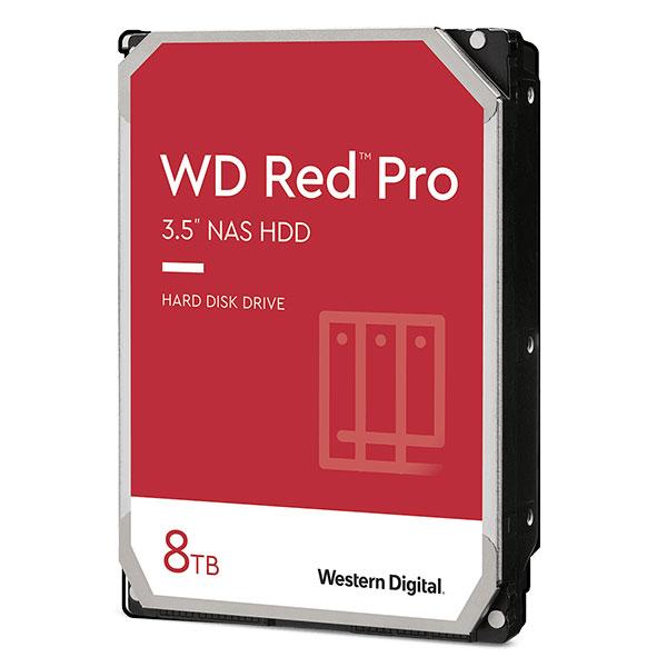 最大16台までのNASソリューションに適したHDD[創業28年のApple専門店]【ラッキーシール対応】 【クーポン有】 Western Digital WD Red Pro 3.5インチ SATA III 8TB # WD8003FFBX ウエスタンデジタル (パソコン周辺機器)