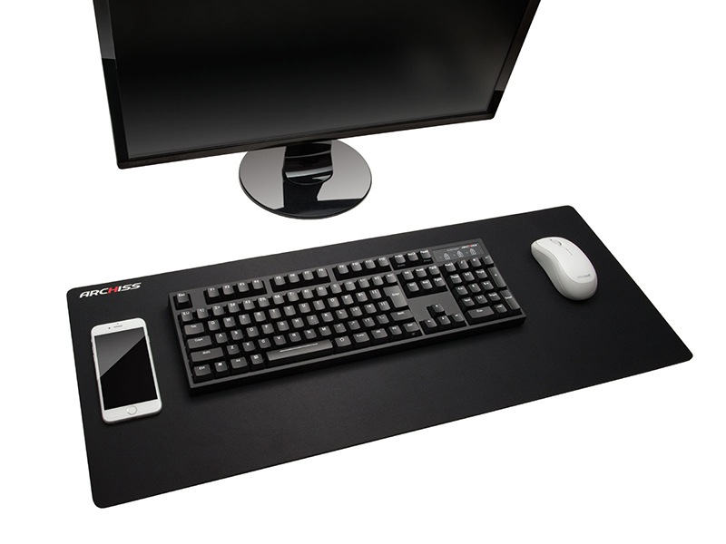 Extra Wide Gadget To Be Placed On The Free Mouse Pad