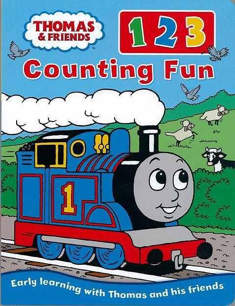 THOMAS FRIENDS1 Import 洋書 児童洋書 児童 子供 こども 英語 えいご トーマス} Counting トーマス 入手困難 Fun 123 えほん 絵本 全店販売中 人気 バーゲンブック{THOMAS