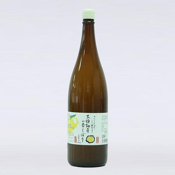 木頭柚子一番搾り1800ml(一升)